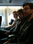 Jon Amor Blues Group aboard Flight no. KLM 103 flying to Germany