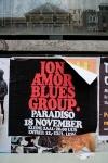 Jon Amor Blues Group Paradiso, Amsterdam Poster 2011